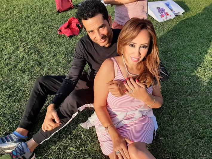 عمرو سعد وزوجته