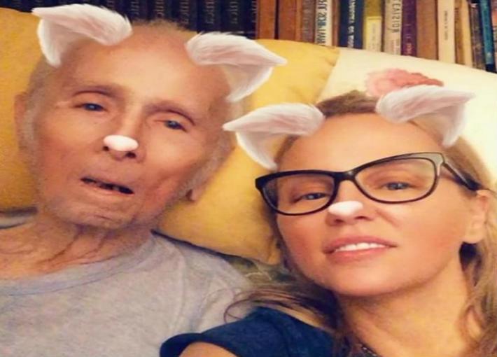 شيرين رضا ووالدها