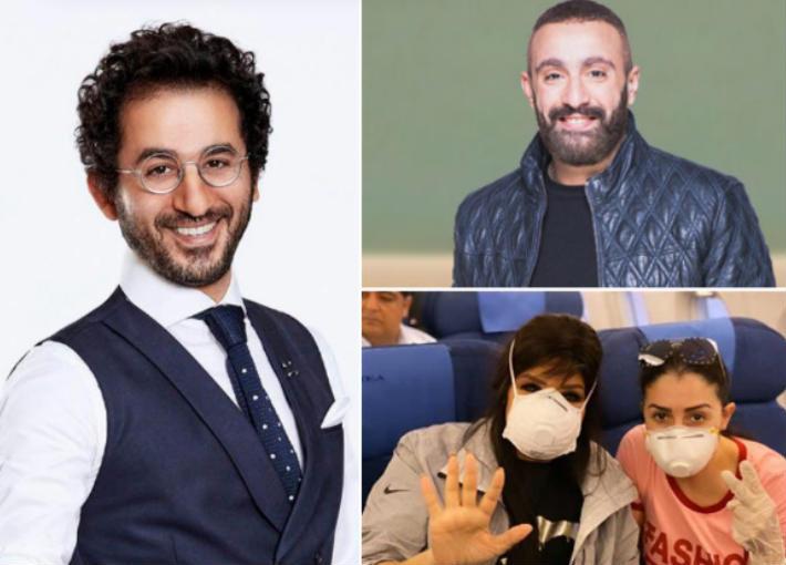 أحمد السقا وأحمد حلمي وغادة عبد الرازق وفيفي عبده