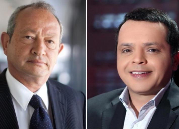محمد هنيدي ونجيب ساويرس