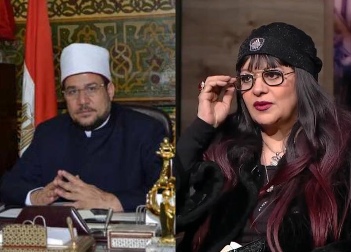 فريدة سيف النصر ووزير الأوقاف