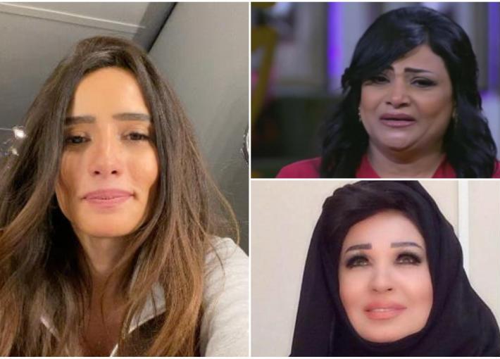 بدرية طلبة وزينة وفيفي عبده