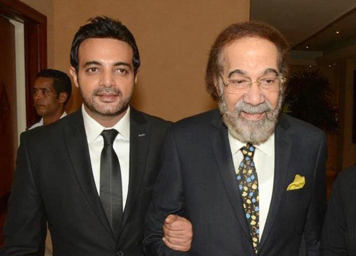عمرو محمود ياسين ووالده