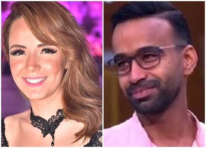 محمود الليثي وسارة درزاوي