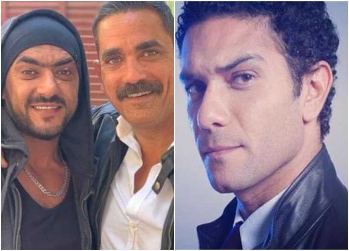 آسر ياسين وأمير كرارة وأحمد العوضي