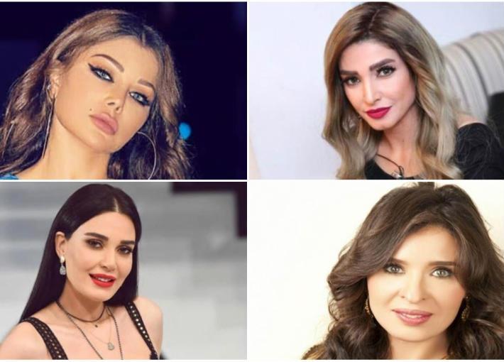 روجينا وهيفاء وهبي ودينا وسيرين عبد النور