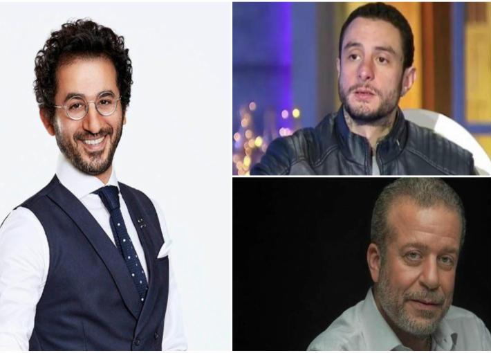 أحمد الفيشاوي وشريف منير وأحمد حلمي