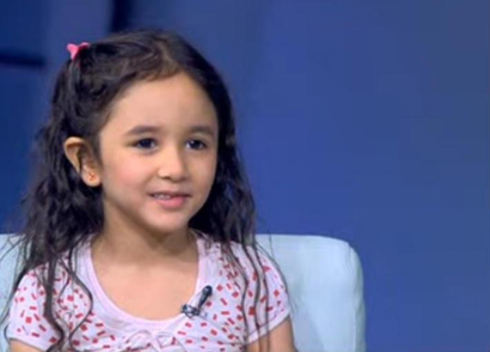 الطفلة فريدة حسام