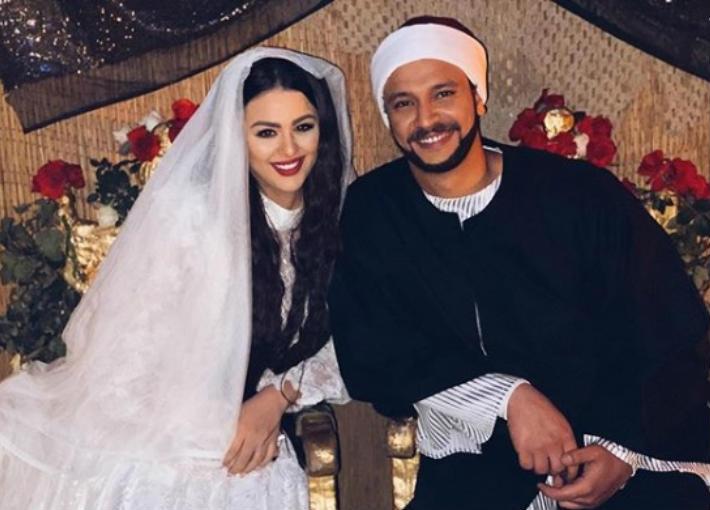أحمد خالد صالح وهنادي مهنى