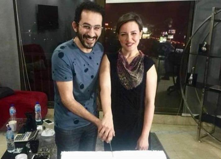 ريهام وأحمد حلمي