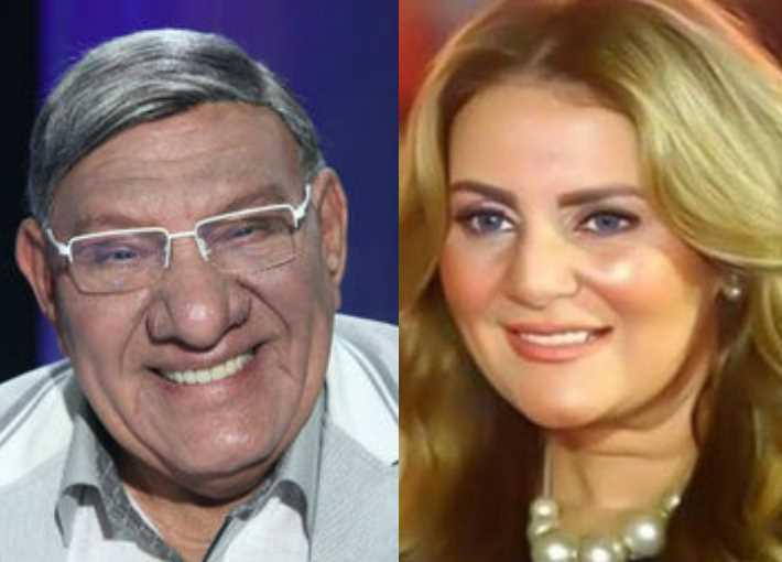 رانيا محمود ياسين ومفيد فوزي