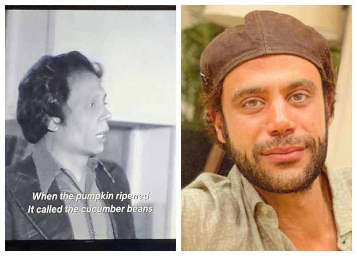 """محمد إمام ولقطة من """"مدرسة المشاغبين"""""""