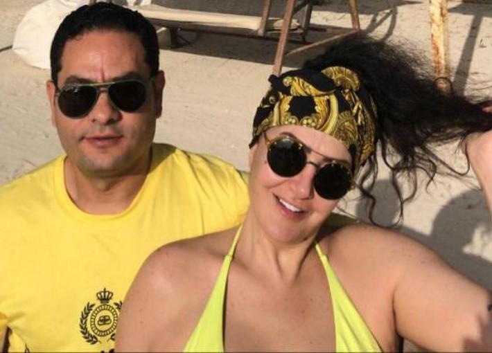 غادة عبد الرازق وزوجها هيثم زينيتا