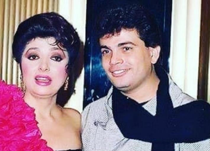 عمرو دياب ونبيلة عبيد