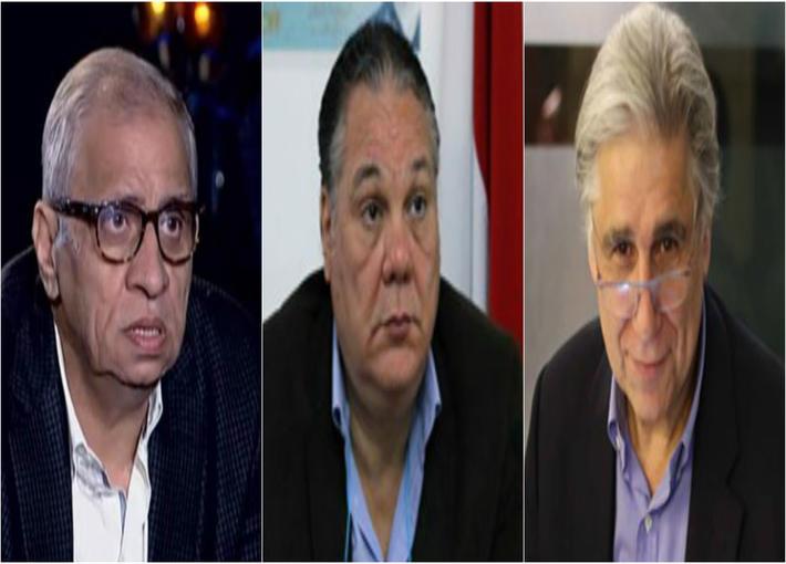جابي خوري، شريف مندور وأحمد السبكي