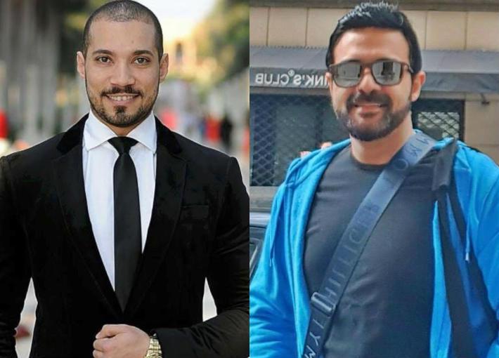 عمرو محمود ياسين وعبد الله رشدي