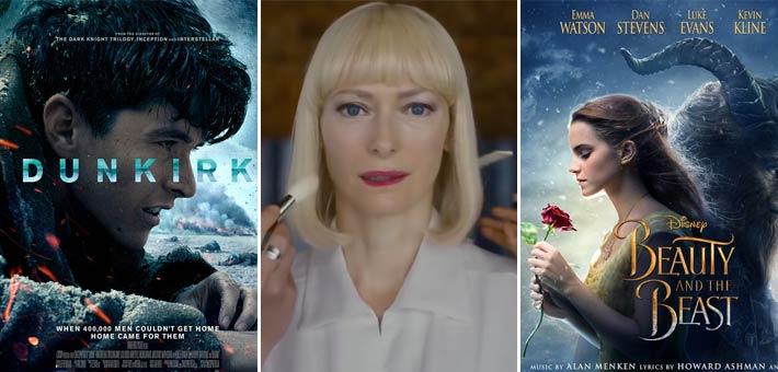 أفلام Beauty and the beast وOkja وDunkirk