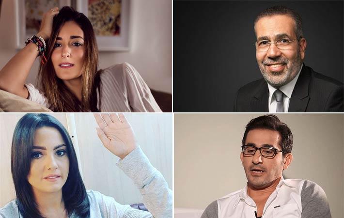 مدحت العدل وأمينة خليل وأحمد حلمي وبشرى