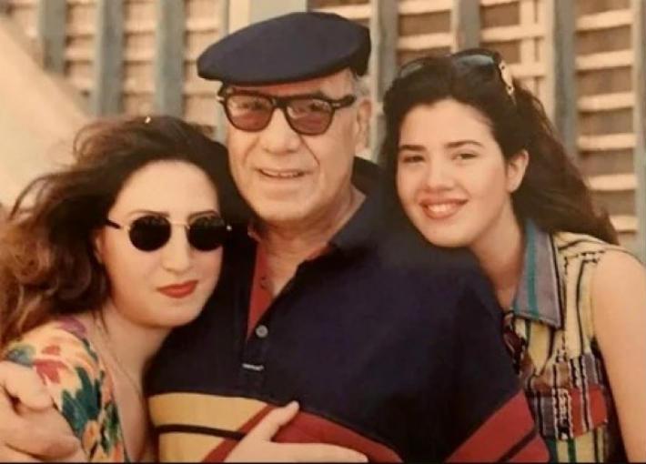 رانيا وعبير مع فريد شوقي