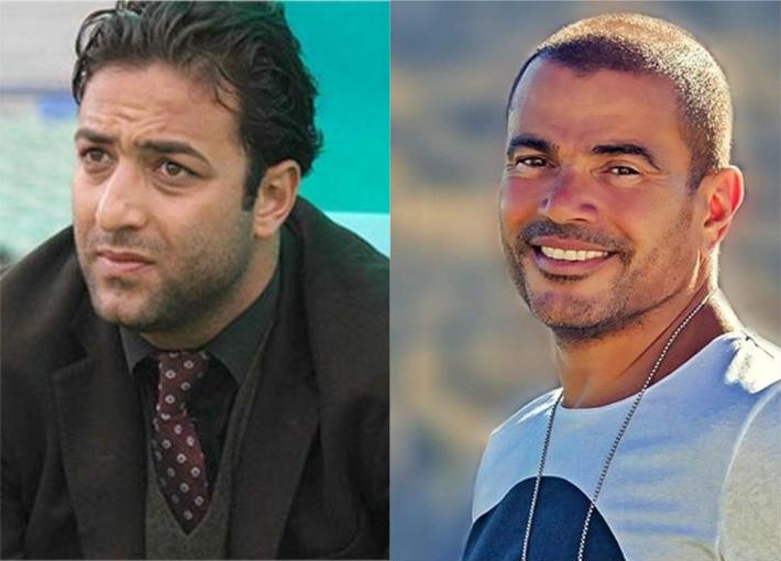 عمرو دياب وميدو