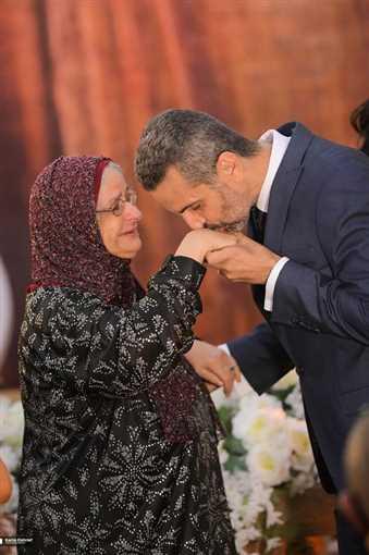 يسرا وهنا الزاهد في عقد قران.. ابنة شقيقة جمال ومدحت العدل- إتفرج