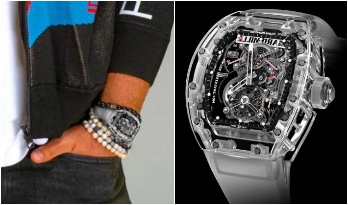ساعة تامر حسني بـ 1.5 مليون يورو | خبر | في الفن
