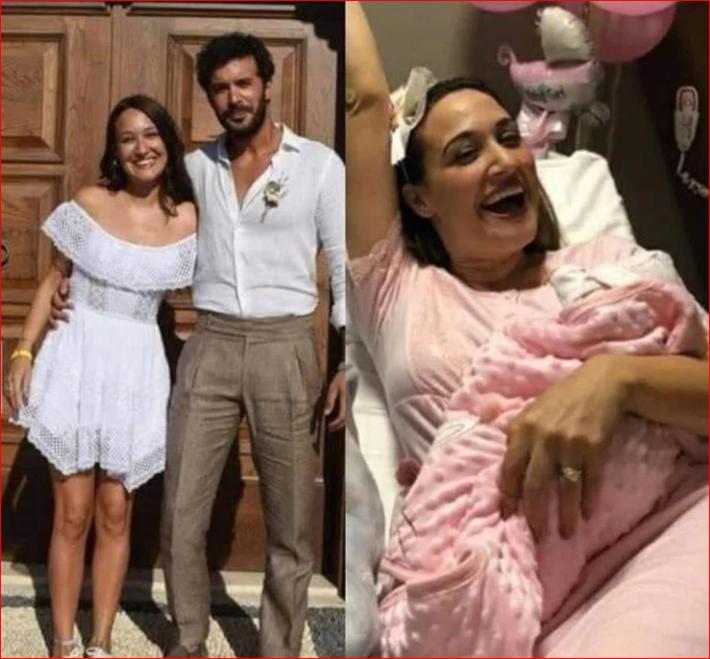 حقيقة إنجاب زوجة النجم التركي باريش أردوتش بعد زواجهما بـ3 أشهر | خبر | في  الفن