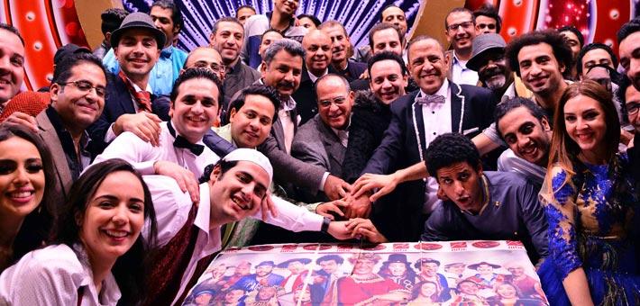 """فريق عمل """"مسرح مصر"""""""