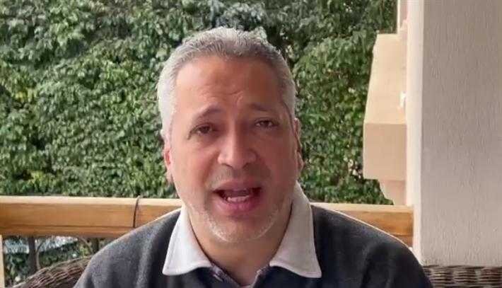 تامر أمين يعتذر لأهالي الصعيد: جزمتكم على راسي من فوق ...