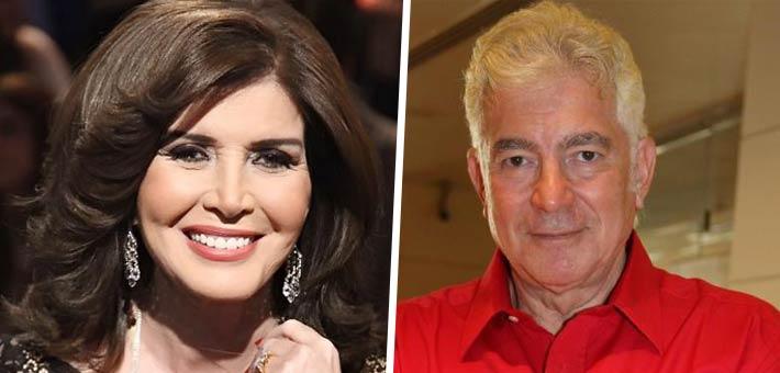 محمود قابيل وميرفت أمين