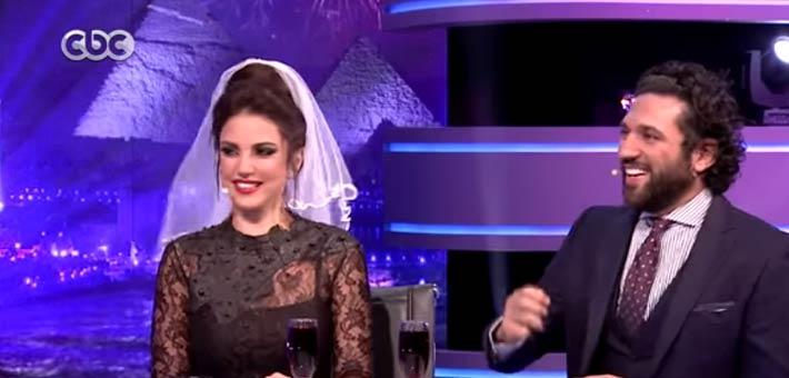 """حسن الرداد يتزوج درة في """"الليلة دي"""""""