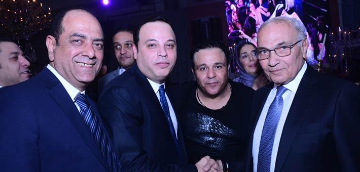 أحمد شفيق ومحمد فؤاد وتامر عبد المنعم