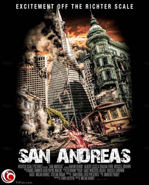 "ملصق فيلم ""San Andreas"""