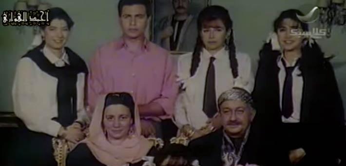 """أسرة """"عبد الغفور البرعي"""" أو نور الشريف في مسلسل """"لن أعيش في جلباب أبي"""""""