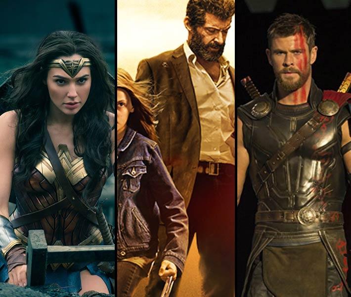أفلام الأبطال الخارقين الصادرة في 2017