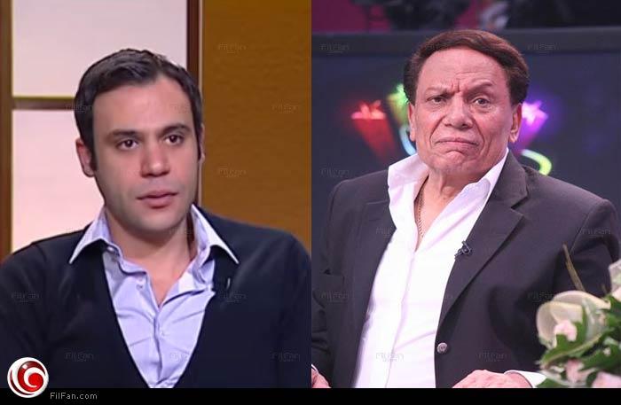 بالفيديو عادل إمام يكشف أسماء التدليل الطريفة لنجليه محمد ورامي