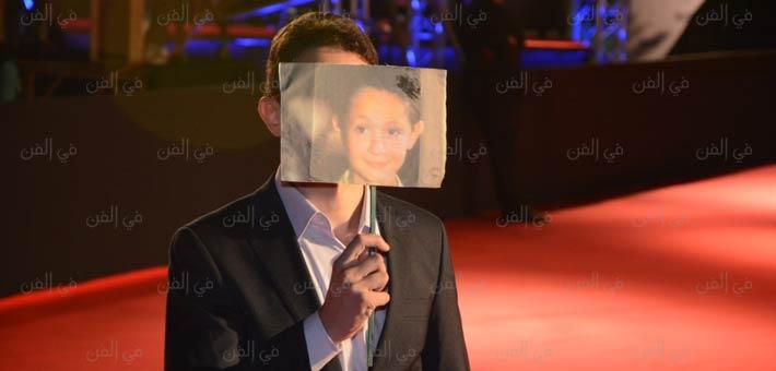 يوسف عثمان على السجادة الحمراء في حفل افتتاح