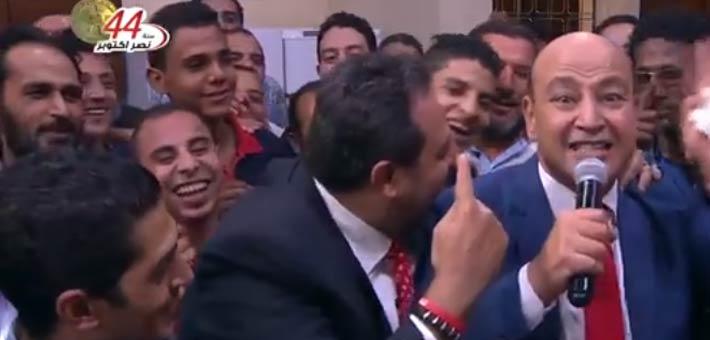 عمرو أديب ومجدي عبد الغني