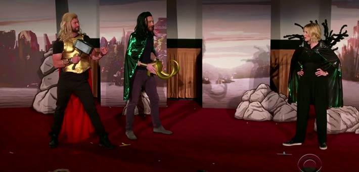أبطال Thor: Ragnarok