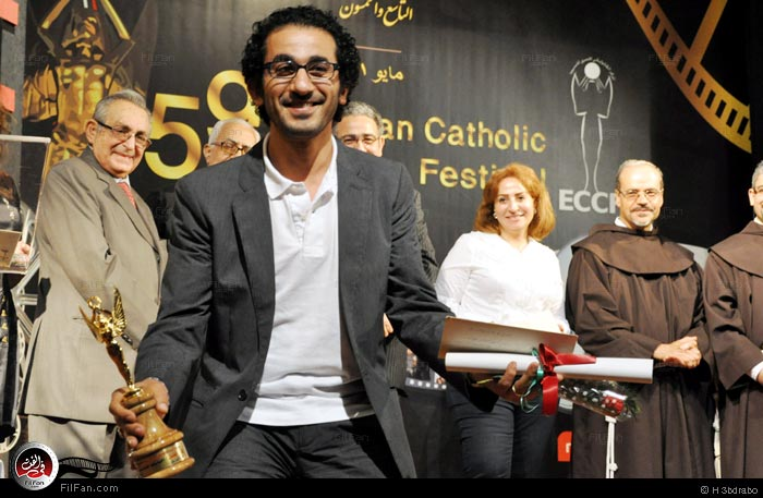 أحمد حلمي والجائزة