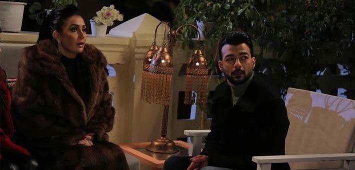 """هيثم شاكر مع غادة عبد الرازق في """"أرض جو"""""""