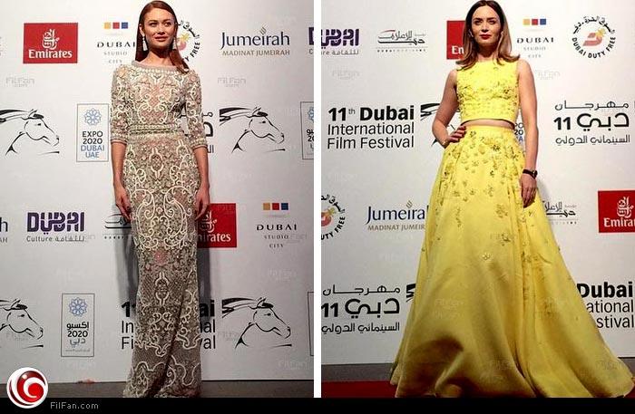 إيميلي بلنت في افتتاج مهرجان دبي السينمائي