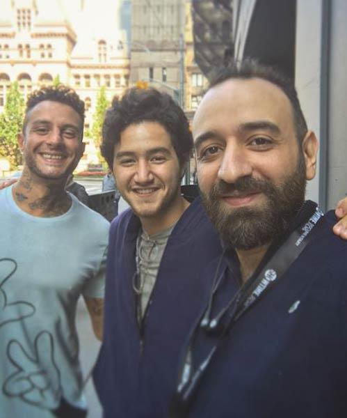عمرو سلامة وأحمد مالك وأحمد الفيشاوي