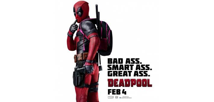 الملصق الدعائي لفيلم Deadpool