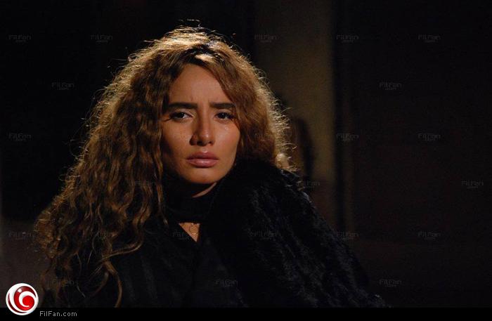 """زينة في لقطة من مسلسل """"الوسواس"""""""