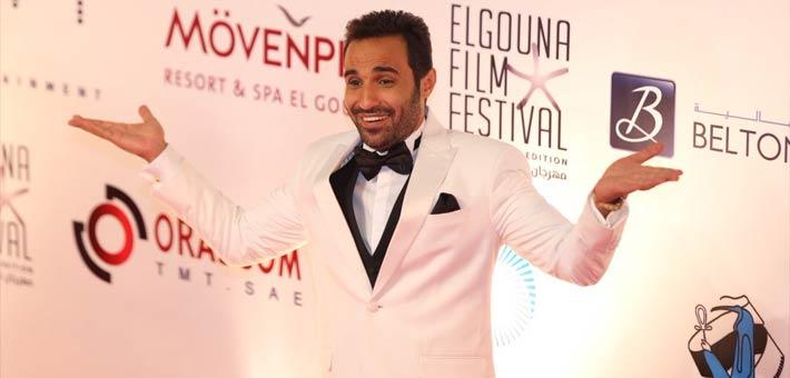 """أحمد فهمي في """"مهرجان الجونة السينمائي"""""""