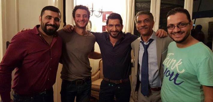 عمرو واكد وأحمد الفيشاوى