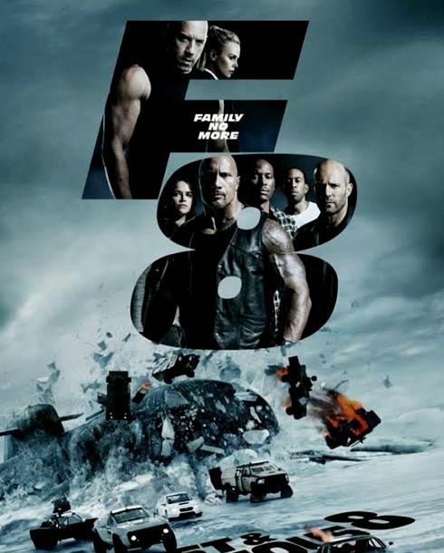 ملصق فيلم The Fate of the Furious