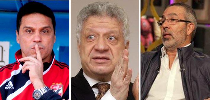مدحت العدل ومرتضى منصور وحسام البدري