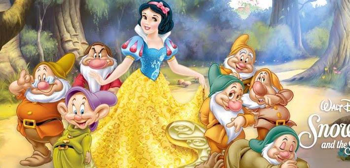 الملصق الدعائي لفيلم Snow White and the Seven Dwarfs